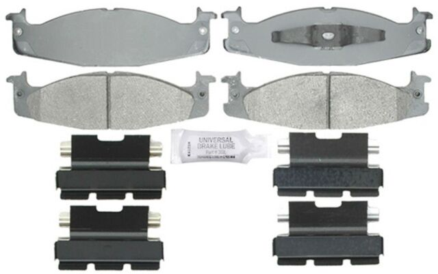 ACDelco 17D632MX Dura Stop Metallic Disc Brake pads For Ford Econoline