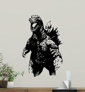 Godzilla-Wall-Decal-Monster-Movies-Nursery-Vinyl-Sticker-Art-Decor-Mural-86zzz