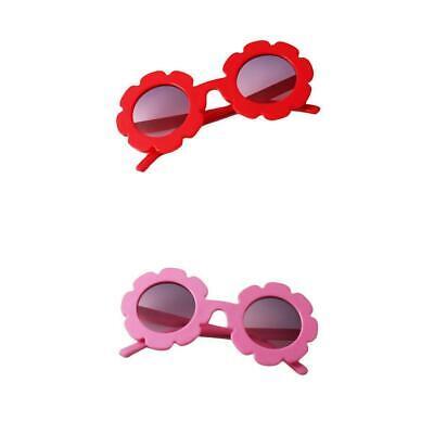 2pcs Baby Banz Sunglasses UV Protection 0-2 Years Stylish Pink /& Red