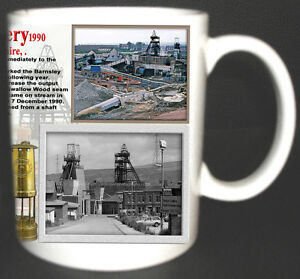 TREETON-COLLIERY-COAL-MINE-MUG-LIMITED-EDITION-GIFT-MINERS-SOUTH-YORKSHIRE-PIT