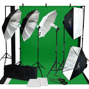 Photo-Video-Studio-Photography-Continuous-Lighting-Kit-Muslin-Backdrop-Stand-Set