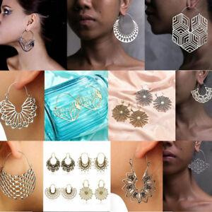 2018-Fashion-Large-Geometry-Metal-Earring-Drop-Dangle-Earrings-Women-Jewelry