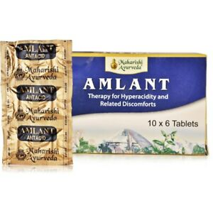 Details about 2 x Maharishi Ayurveda Amlant Tablets (60 Tab) For Acidity  and Gastric Problems