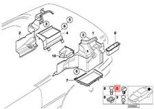 BMW E46 E91 E91 LCI TRUNK FLOOR TRIM PANEL LOCKING BUTTON 51478248015