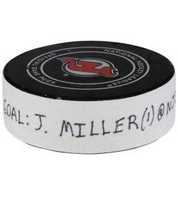 2018-JT-Miller-Lightning-NHL-Playoff-Game-Used-Goal-Scored-Puck-NJD-Logo