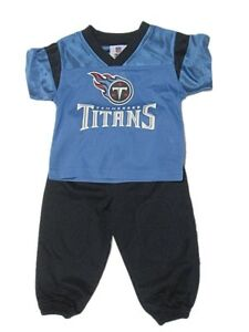 info for 36e1f 95611 Details about NEW NFL Infant Tennessee Titans Outfit 12 Months 24 Boys  Nylon Sweatsuit Baby
