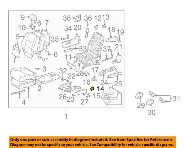 TOYOTA Genuine 71875-58030-B1 Reclining Adjuster Cover