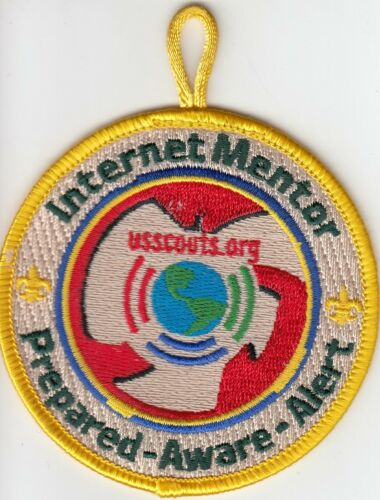 Mentor Patch Internet Scout usscouts.org Prepared Aware Alert