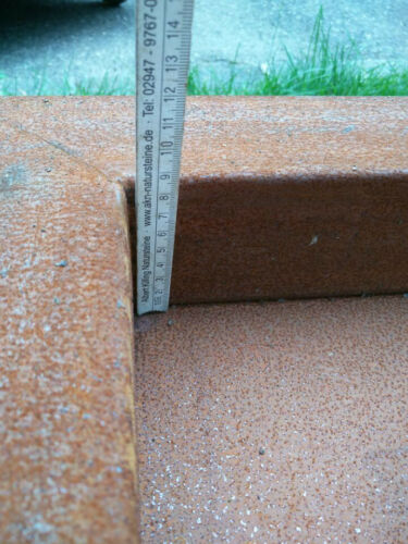 Edelrost Feuerschale Rost Pflanzschale Feuerschale Rost Gartendeko Metall 80cm