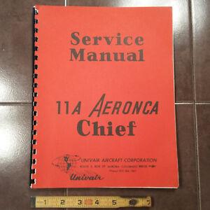 aeronca chief model 11a service manual ebay rh ebay ie Aeronca Chief 11 BC Aeronca Chief Drawings