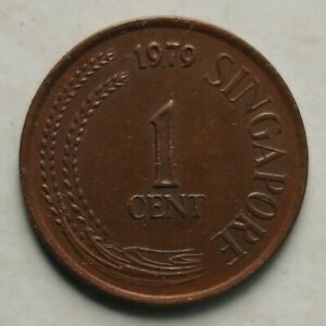 Singapore 1979 1st Series 1 cent coin