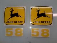John Deere 58 Loader Decals