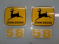 John Deere 58 Loader Decals