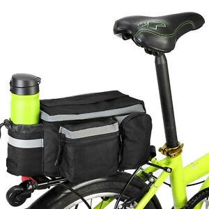 1x MTB Fahrrad Doppeltasche Pro Seiten Satteltasche Packtasche Gepäckträger