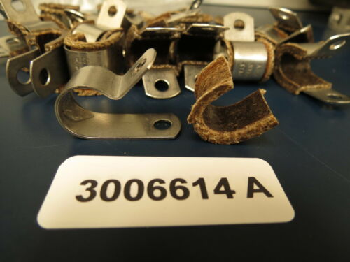 """Stainless Hi-Temp Loop 3006614A Clamps for 5//16/"""" 3//8/"""" or 7//16/"""" Lines 20"""