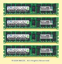Samsung/HP Server RAM 32GB 4x 8GB PC3-10600R ECC Registered DDR3 1333 Memory LOT