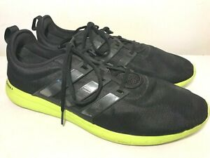 Details about Adidas Adiprene Athletic Shoes Mens Size 15 Black Neon Yellow Green Sole
