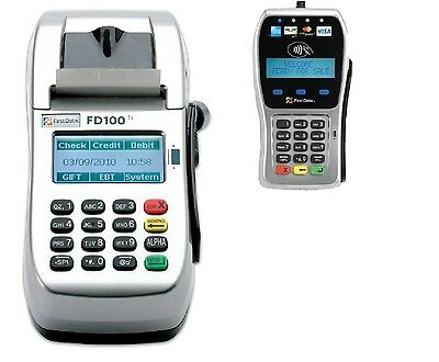 First Data FD100Ti IP//Dial Machine free shipping