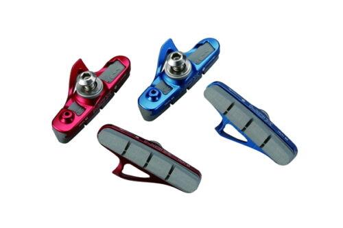 UZ. BIKE XON Lightweight brake shoes pad for Road Bike,30g--Blue