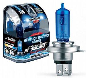 FIAT 500 STILO PUNTO CROMA LUCI LAMPADINE LAMPADE BIANCHE SIMONI RACING 4200k