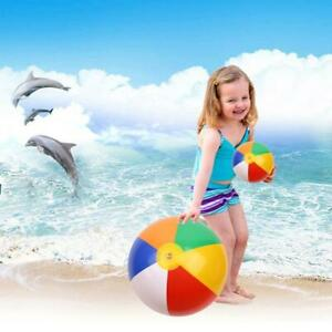 Inflatable Ball Beach Pool Play Water Sand Toy Outdoor Swi Summer Games P8P1