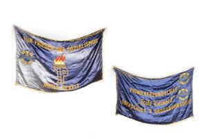 Bandera-Fdj-Pieza-Unica-Libre-Aleman-Joven-en-Ambos-Lados-Emblema-125-x-75cm