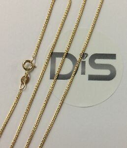 375-9ct-Yellow-Gold-Spiga-Necklace-16-034-18-034-20-034