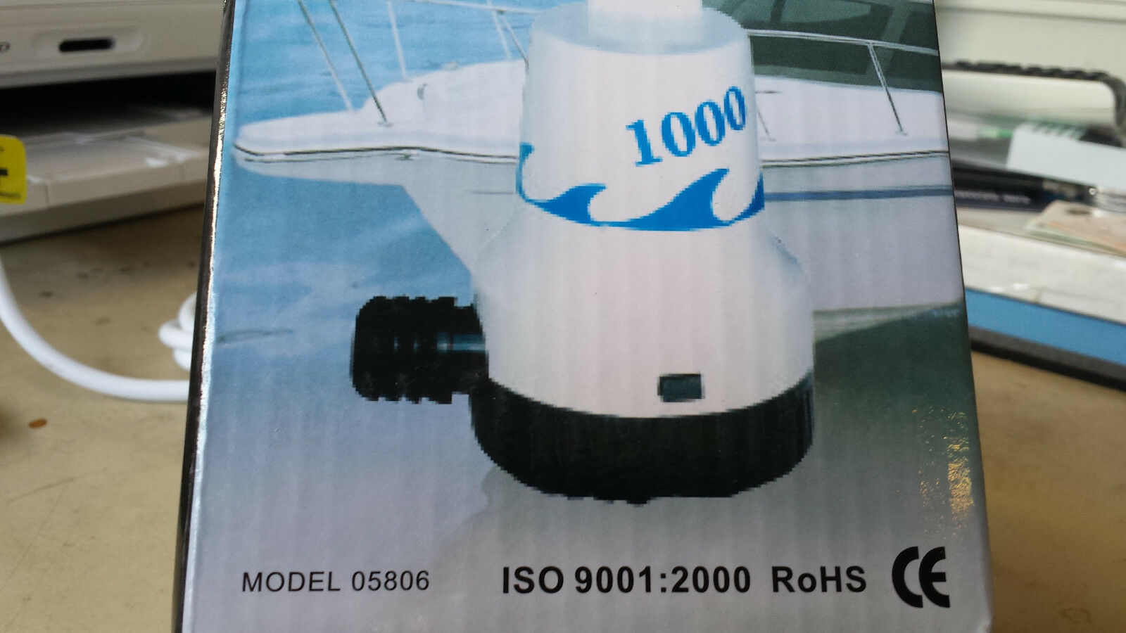 Riesige BILGENPUMPE 12V Mod.3000 etc. WASSERPUMPE  für StiefelE etc. Mod.3000 D=180x130mm 13347B b5a352
