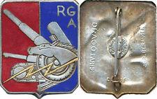 Réserve Générale d'Artillerie, bleu foncé à droite, pastille gravée, D.Ber.Dép.