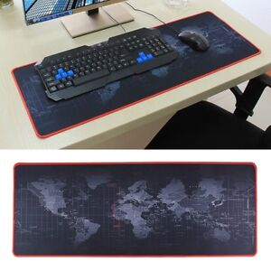 xxl welt mauspad gaming pad 80 x 30 cm mousepad maus pad pc computer pad b ro ebay. Black Bedroom Furniture Sets. Home Design Ideas