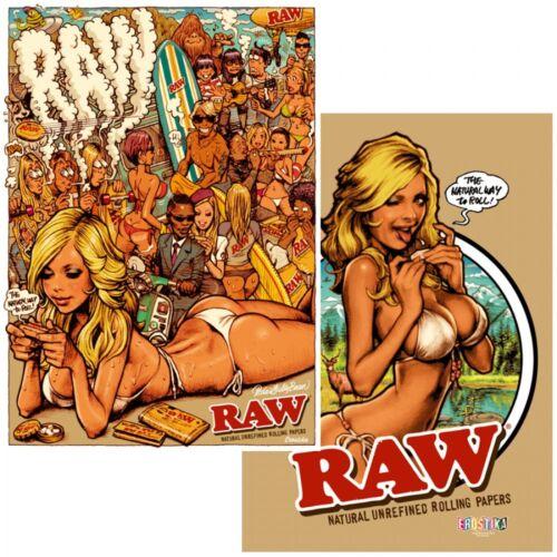 New Rockin/' Jelly Bean EROSTIKA RAW x Rockinハシ Jelly Bean Double Sided Poster