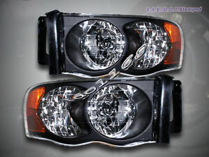 Image Is Loading 02 05 Dodge Ram 1500 2500 3500 Headlights