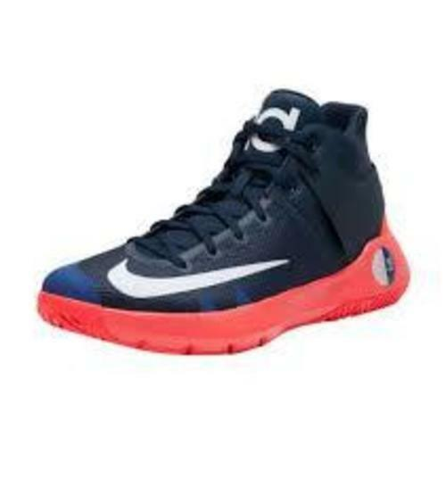 347ba3eb931 Nike KD Trey 5 IV V 4 Men Basketball Shoes Obsidian White Crimson 12 for  sale online