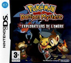 Pokemon - Mystery Donjon Explorateurs de l'ombre pour DS Donjon Mystère PKMN