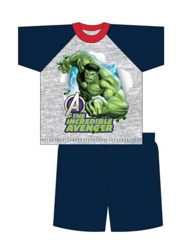 10yrs Garçons Enfants Cars Toy Story Avengers Hulk Short Shortie pyjamas pyjama 12 mois