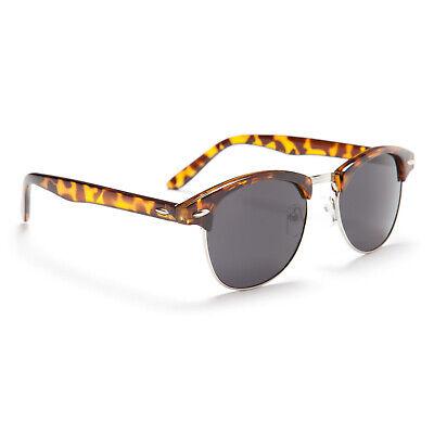 TORTOISE BROWN 1950s Vintage Sunglasses Mens Ladies Womens Classic UV