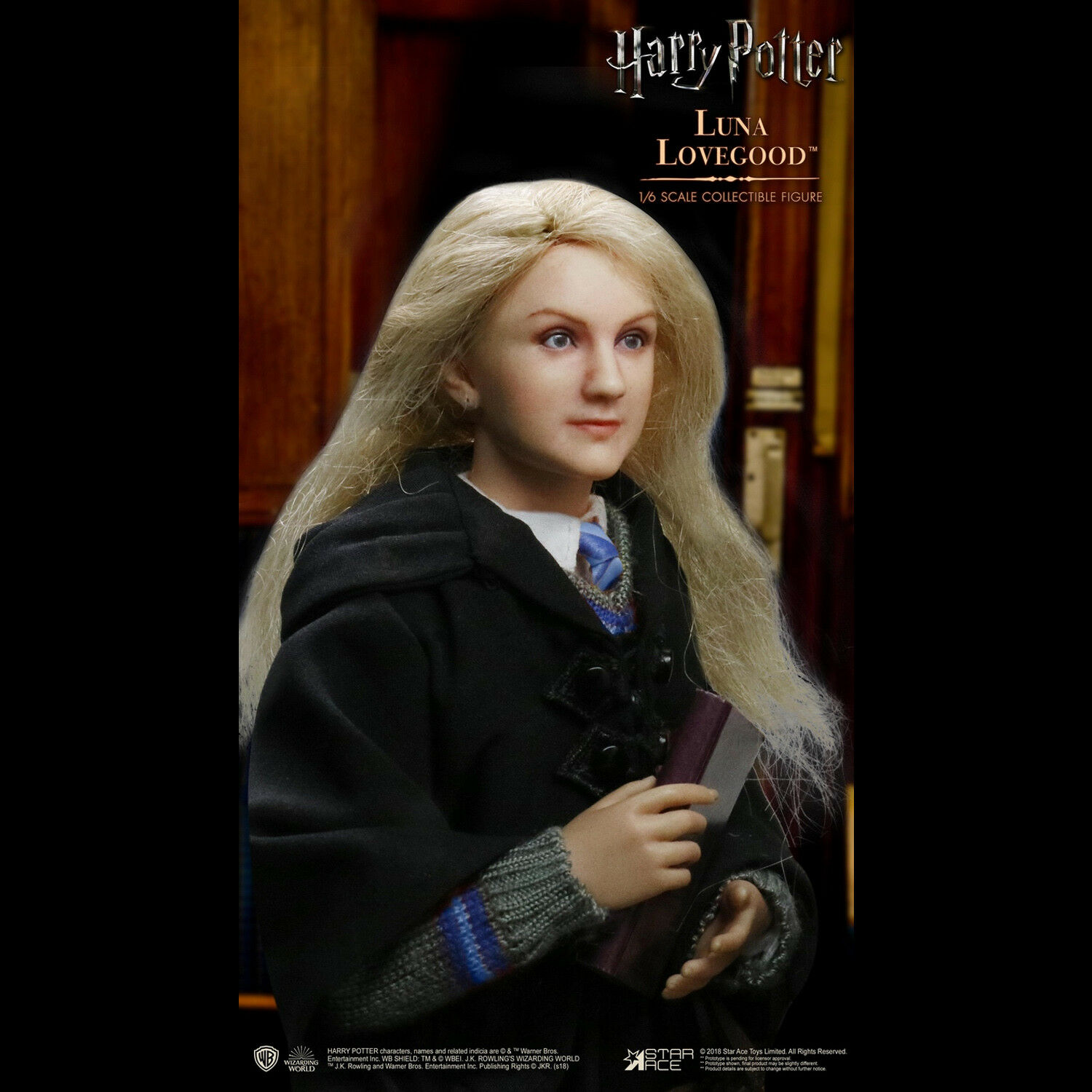 Star Ace Toys SA0062 Harry Potter 1/6 Scale Luna Lovegood Action Figure