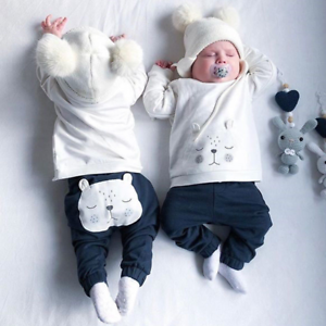 Ropa Para Bebe Recien Nacido Varon Conjuntos De Niño Bebes Pantalones Camisas 2P