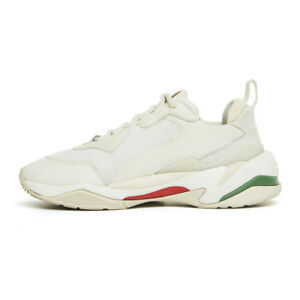 Puma Thunder Spectra White US M Size 4 ~ 10 Unisex Shoes Sneakers ... a738d0dac