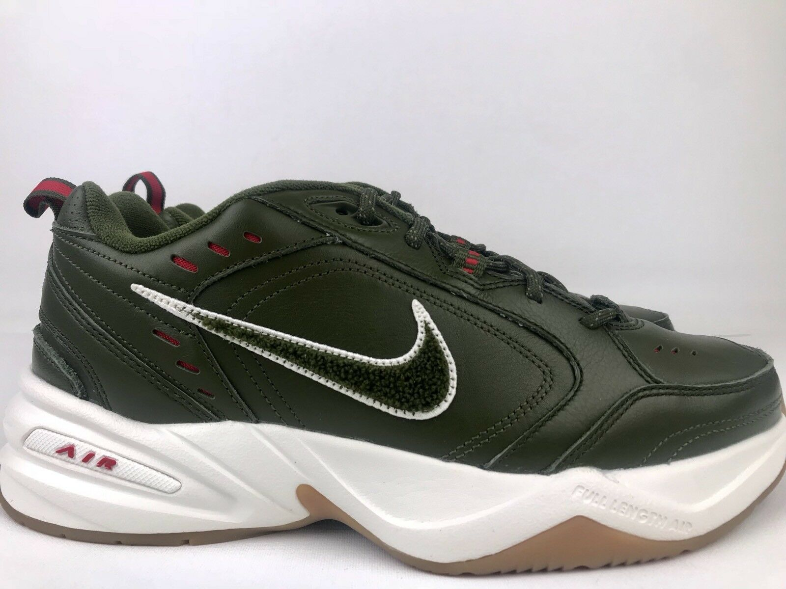 Nike Air Monarch IV Weekend Campout Mens Size 8.5 Army Green Orange