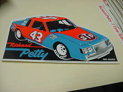 Richard Petty 1981  BUICK   decal