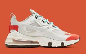 Nike-Air-Max-270-React-Mens-US-10-5-UK-9-5-AO4971-200-Sneakers-Trainers-Shoes