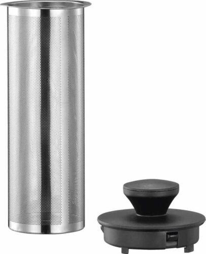 Edelstahl Wasserkocher Glas Temperaturwahl mit LED Warmhaltefunktion 1,7L 2000W