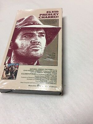 Elvis Presley VHS Movie Charro | eBay