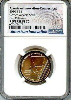 1st 2020 S Sacagawea $1 Anti-Discrimination FDOI NGC PF70 U.C