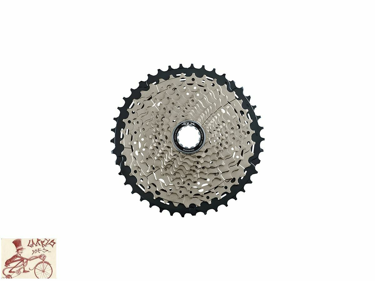 SHIMANO SLX M7000 11-SPEED---11-46T  MTB BICYCLE CASSETTE  100% fit guarantee