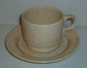 Homer-Laughlin-Cup-And-Saucer-STRAWBERRY-Vtg