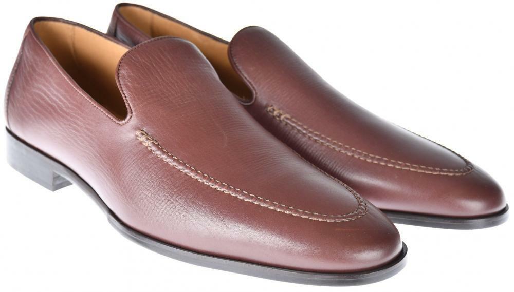 Chaussures Lor Piana ville Mocassin Promenade en CUIR taille 11 US marron 04SO0101 1325