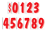 Car-Dealer-Windshield-Stickers-11-Dzn-Pricing-Numbers-You-Pick-Color-7-1-2-Inch thumbnail 6