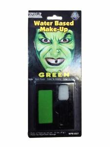 Color-Face-Makeup-Water-Green-Halloween-Fancy-Costumes-Based-Washout-Accessories